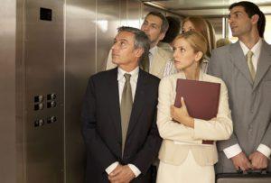 استفاده از آسانسور