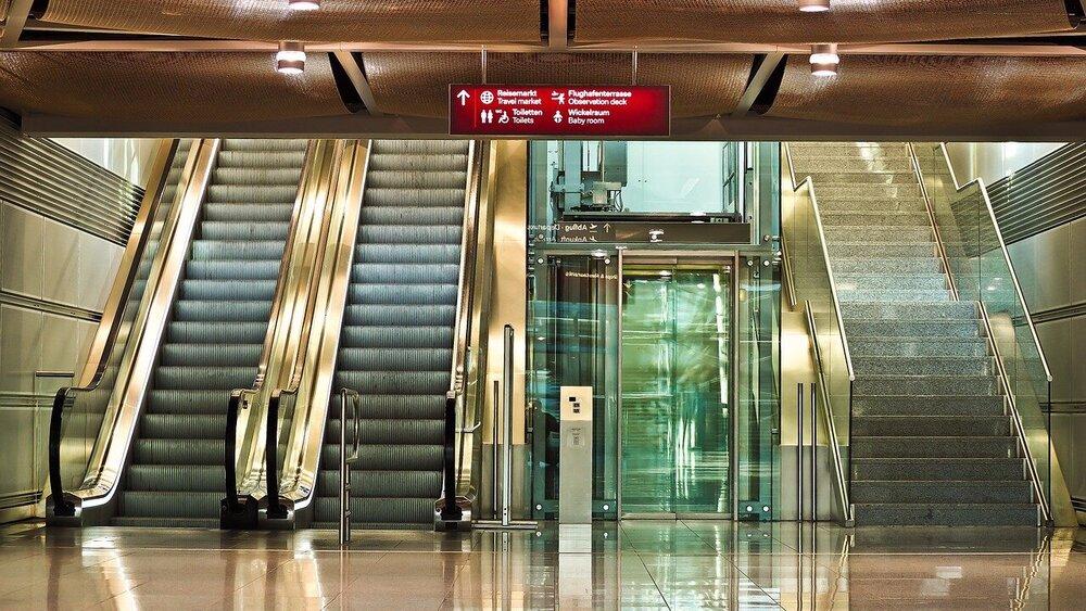 ایمنی آسانسور و پله برقی