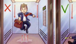 زمان سقوط آسانسور
